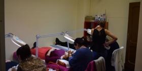 Scuola LashDream lezione pratica con Maria Larionova
