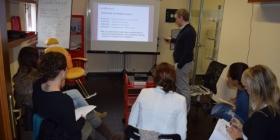 Scuola LashDream lezione teorica tenuta da Bruno Castelnuovo
