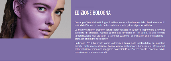 Cosmoprof Bologna 2020
